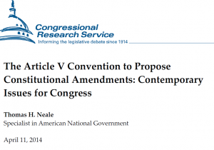 CRS Report to Congress 2014